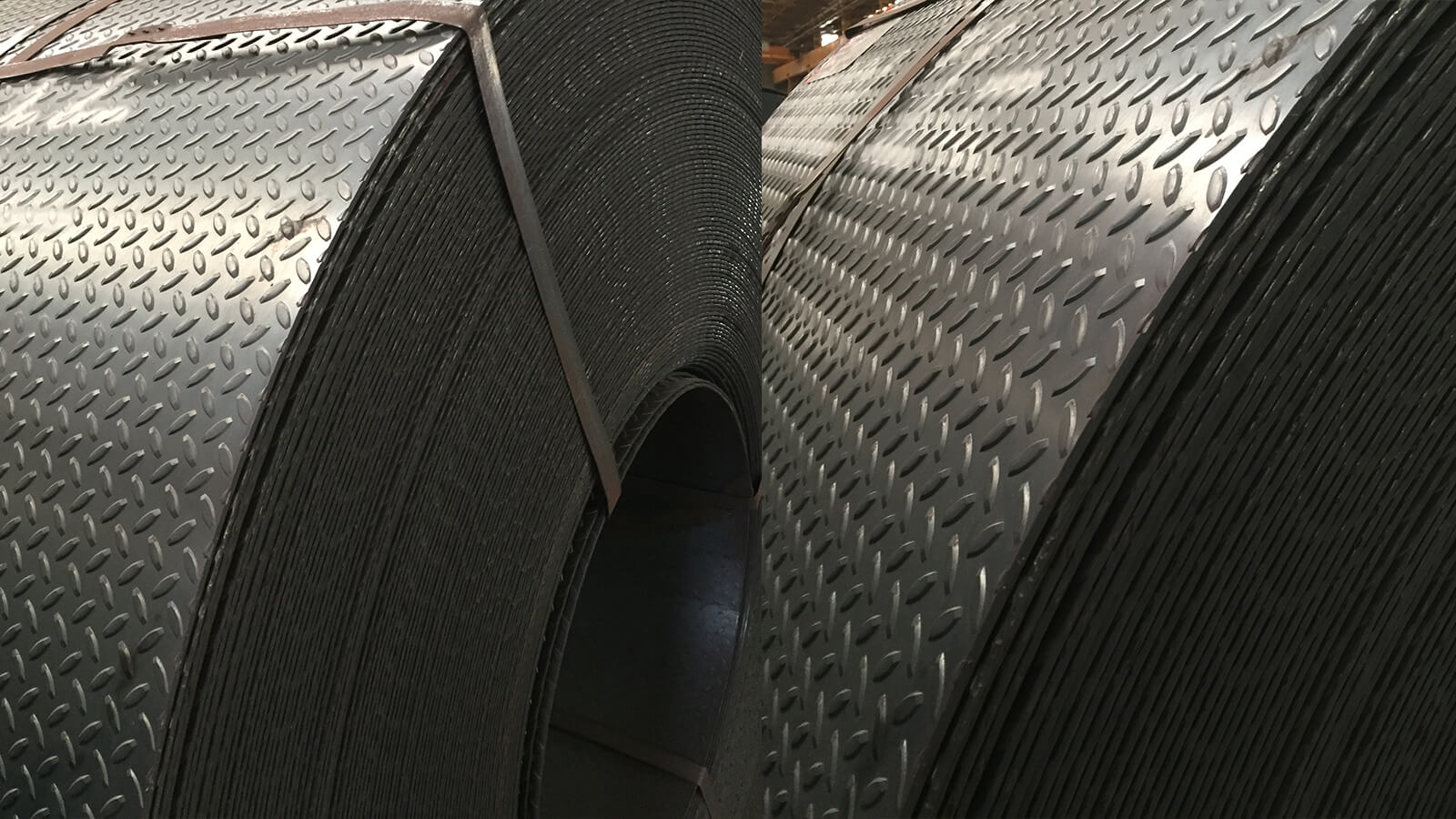 DIAMOND PLACE SHEET METAL AND COILS